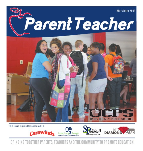 Parent Teacher Magazine Union County Public Schools May 2014