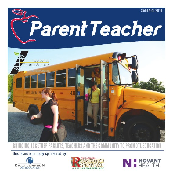 Parent Teacher Magazine Cabarrus County School September 2014