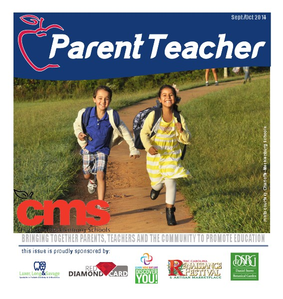 Parent Teacher Magazine Charlotte Mecklenburg Schools September 2014