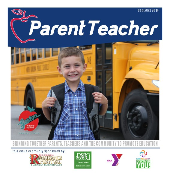 Parent Teacher Magazine Gaston County Schools September 2014