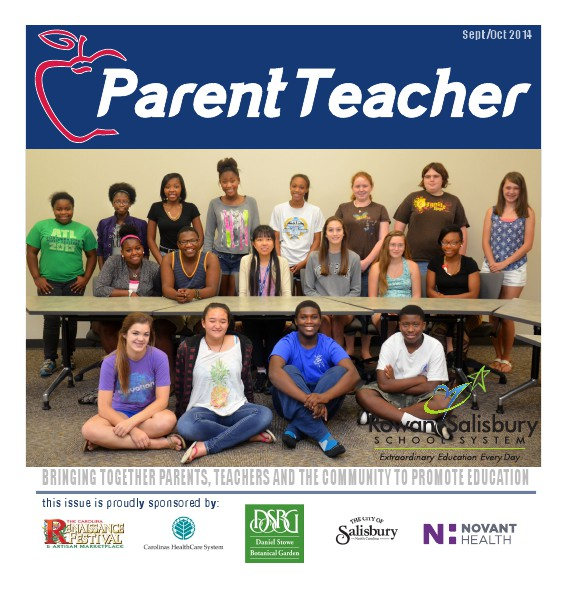 Parent Teacher Magazine Rowan Salisbury Schools September 2014
