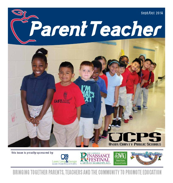Parent Teacher Magazine Union County Public Schools September 2014