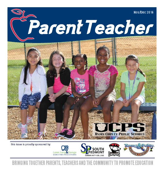 Parent Teacher Magazine Union County Public Schools November 2014