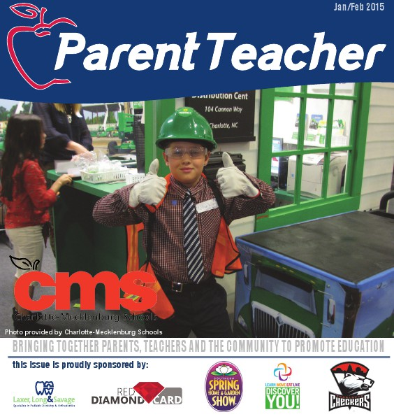 Parent Teacher Magazine Charlotte-Mecklenburg School January 2105