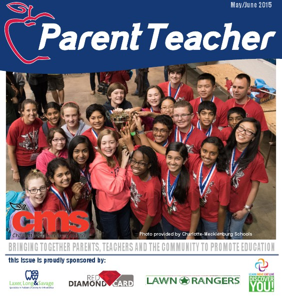 Parent Teacher Magazine Charlotte-Mecklenburg May/June 2015