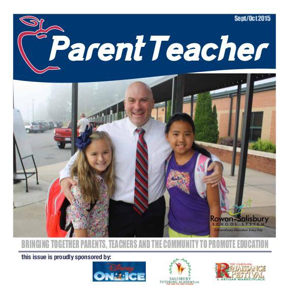Parent Teacher Magazine Rowan-Salisbury Schools Sept/Oct 2015