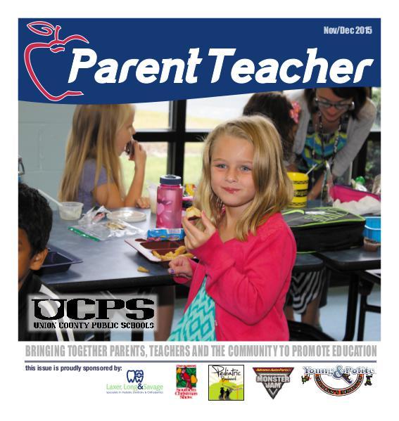 Parent Teacher Magazine Union County Public Schools Nov/Dec 2015