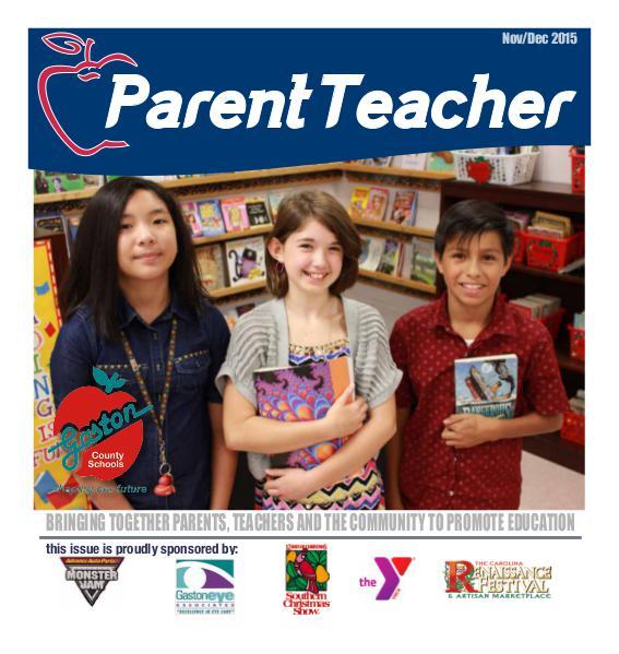 Parent Teacher Magazine Gaston County Schools Nov/Dec 2015