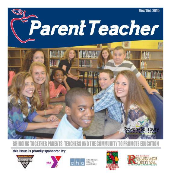 Parent Teacher Magazine Rowan-Salisbury Schools Nov/Dec 2015