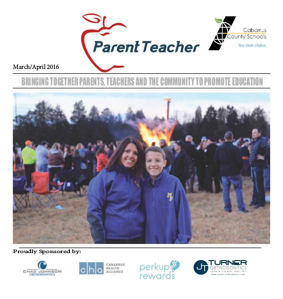 Parent Teacher Magazine Cabarrus County School March/April 2016