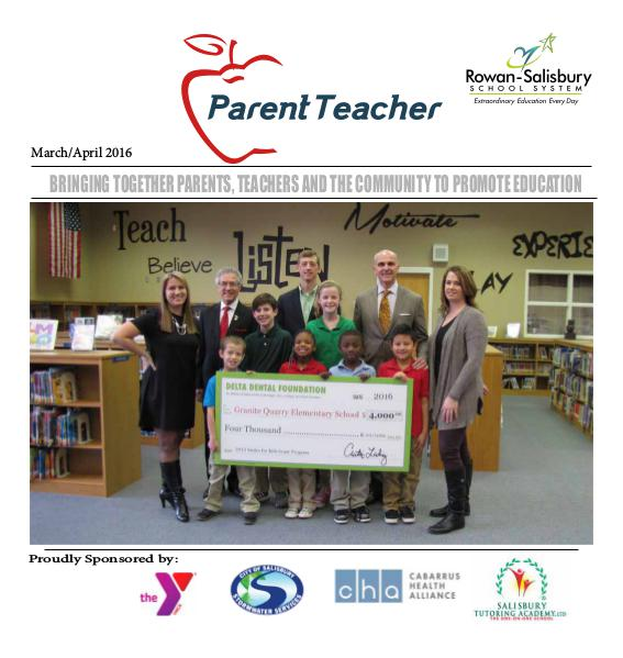 Parent Teacher Magazine Rowan-Salisbury Schools March/April 2016