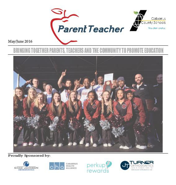 Parent Teacher Magazine Cabarrus County School May/Jun 2016