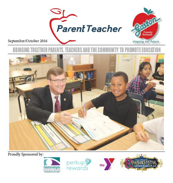 Parent Teacher Magazine Gaston County Schools Sept/Oct 2016
