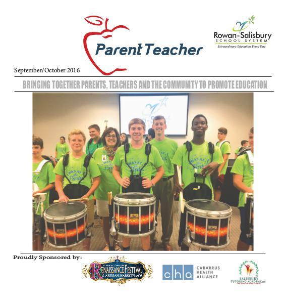 Parent Teacher Magazine Rowan-Salisbury Schools Sept/Oct 2016