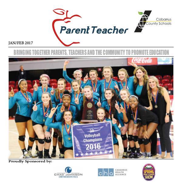 Parent Teacher Magazine Cabarrus County Schools Jan/Feb 2017
