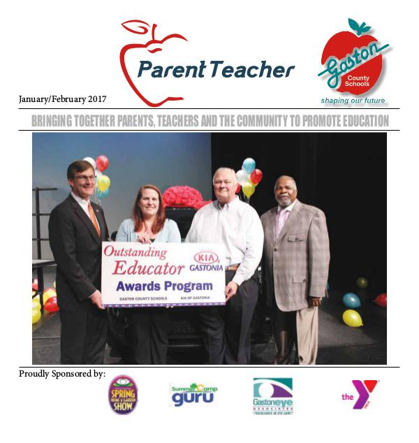 Parent Teacher Magazine Gaston County School Jan/Feb 2017