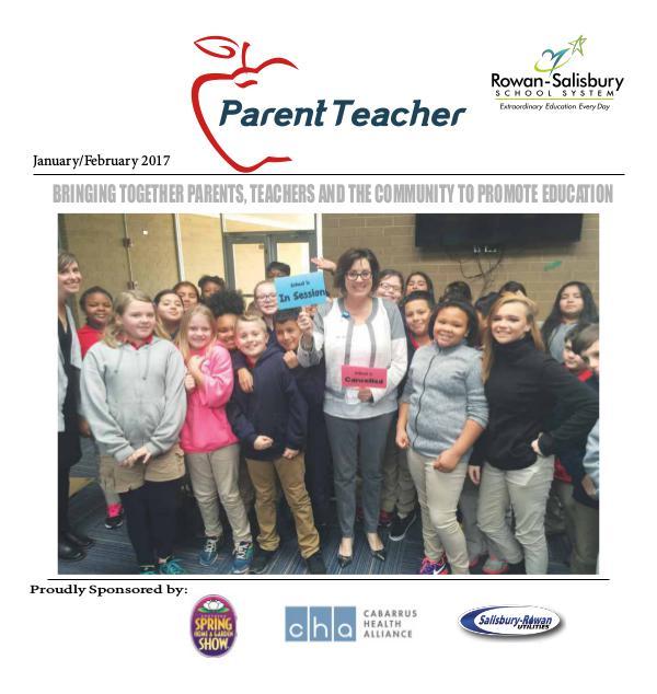 Parent Teacher Magazine Rowan-Salisbury Schools Jan/Feb 2017