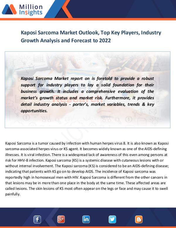 News on market Kaposi Sarcoma Market