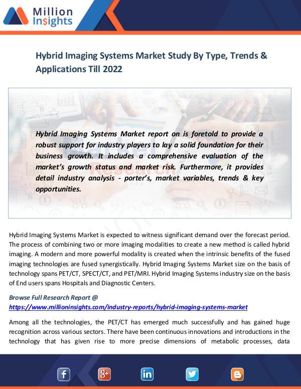 Hybrid Imaging Systems Market