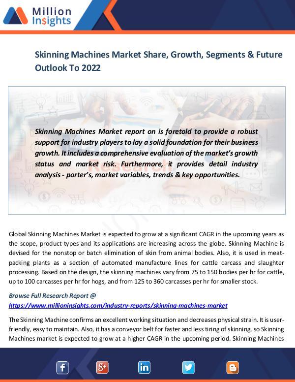 Skinning Machines Market