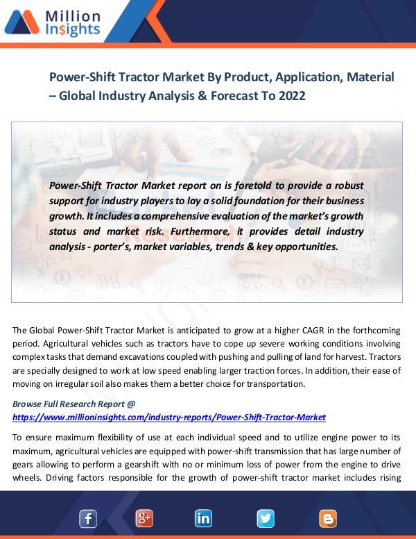Power-Shift Tractor Market
