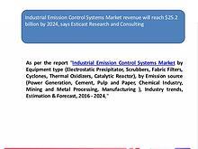 Industrial Emission Control Systems Market revenue will reach $25.2 b