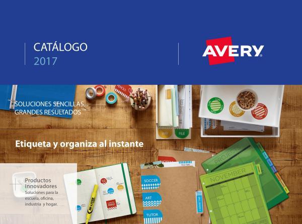 Avery Catálogo 2017