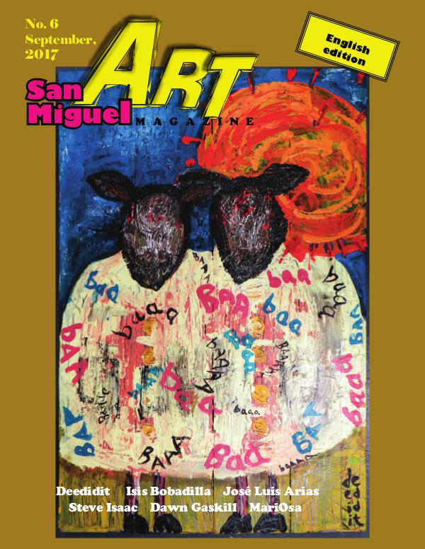 San Miguel Art magazine/ Sept.