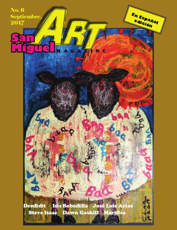 San Miguel Art magazine/ Septiembre