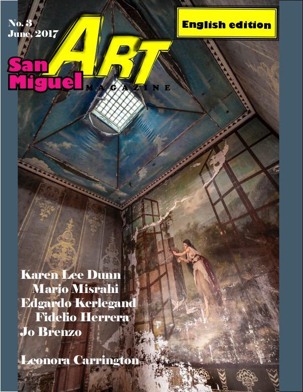 San Miguel Art magazine/ JUNE 17