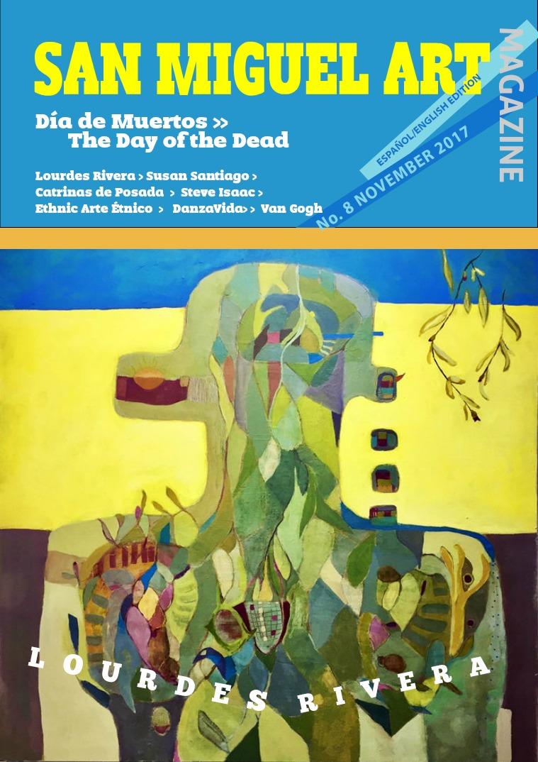 San Miguel Art magazine/ November edition.