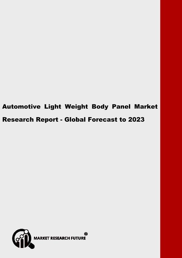 Automotive Light Weight Body Panel Market Research