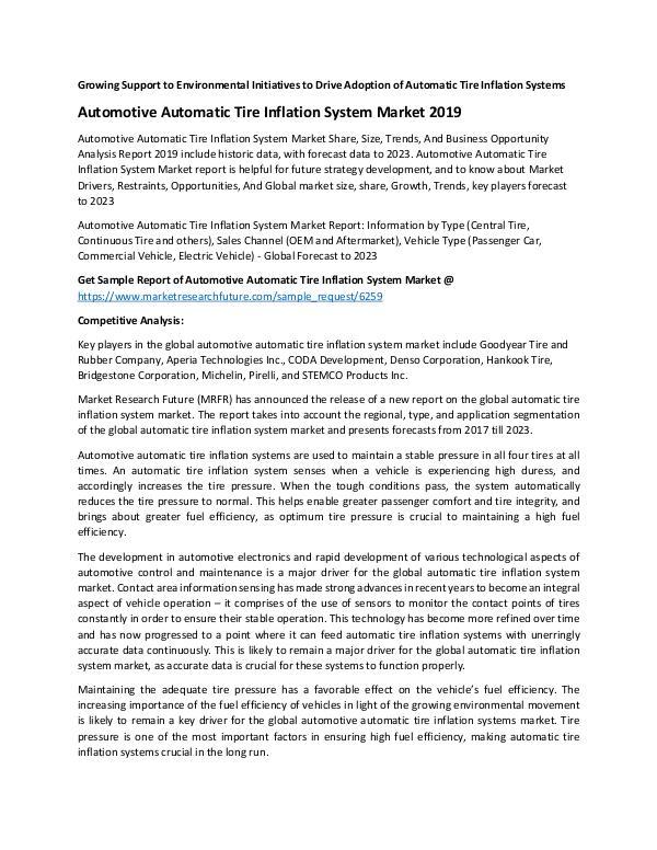PR_Automotive Automatic Tire Inflation System Mark