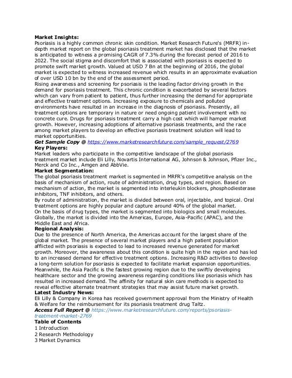psoriasis treatment market