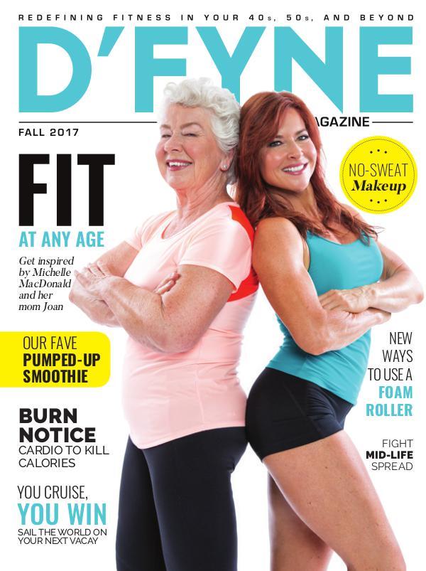 D'FYNE Fitness Magazine Fall 2017