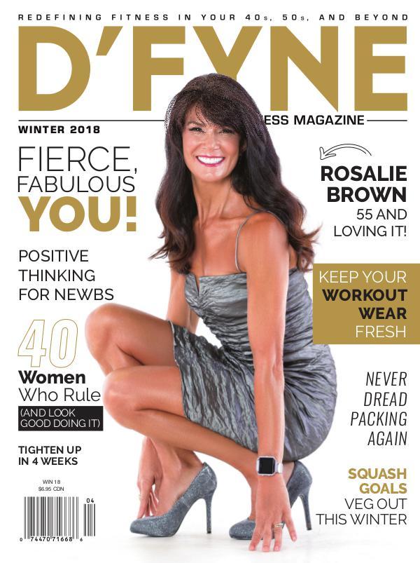 D'FYNE Fitness Magazine Winter 2018