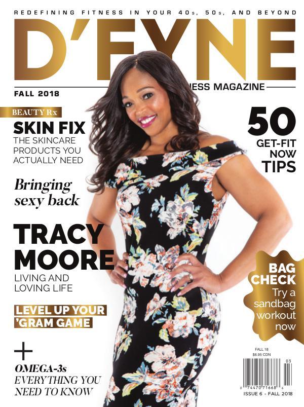 D'FYNE Fitness Magazine Fall 2018