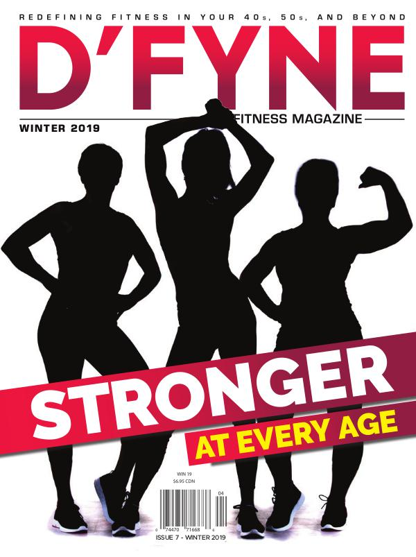 D'FYNE Fitness Magazine Winter 2019