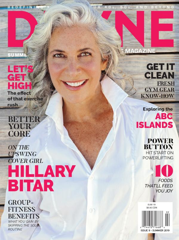 D'FYNE Fitness Magazine Summer 2019