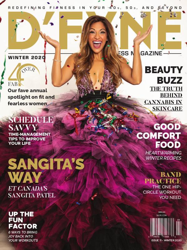 D'FYNE Fitness Magazine Winter 2020