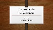 La evolucion de la ciencia. TOMO VII