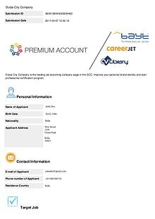 Dubai City Company - Premium Registration