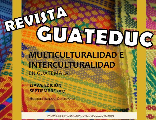 RevistaGuateduc MulticulturalidadPluriculturalidad