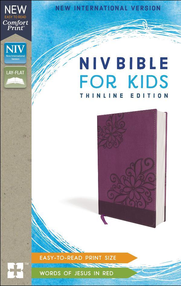 NIV Bible for Kids, Comfort Print 9780310448747_NIV_Thinline_standardprint_sampler