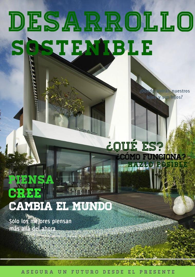 Desarrollo sostenible Desarrollo sostenible