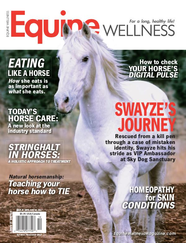 Equine Wellness Magazine Oct/Nov 2017