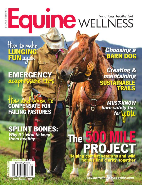 Equine Wellness Magazine Aug/Sept 2017