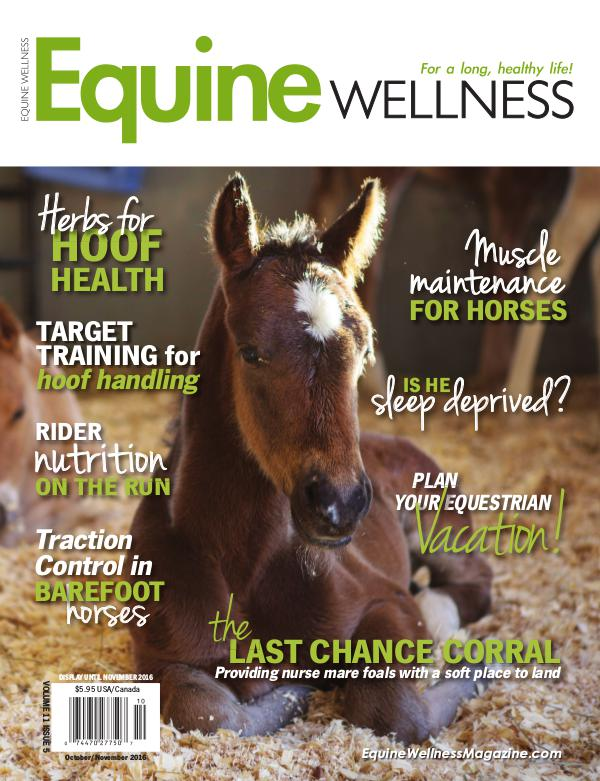 Equine Wellness Magazine Oct/Nov 2016