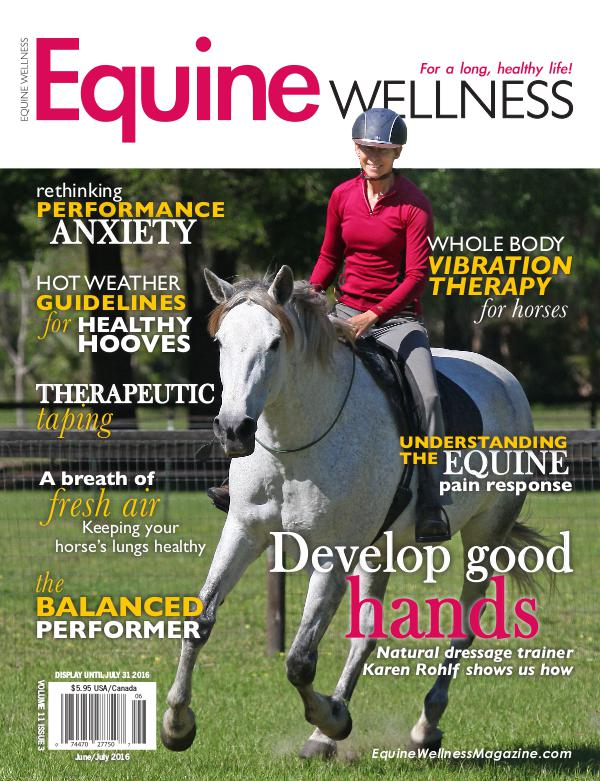 Equine Wellness Magazine June/July 2016