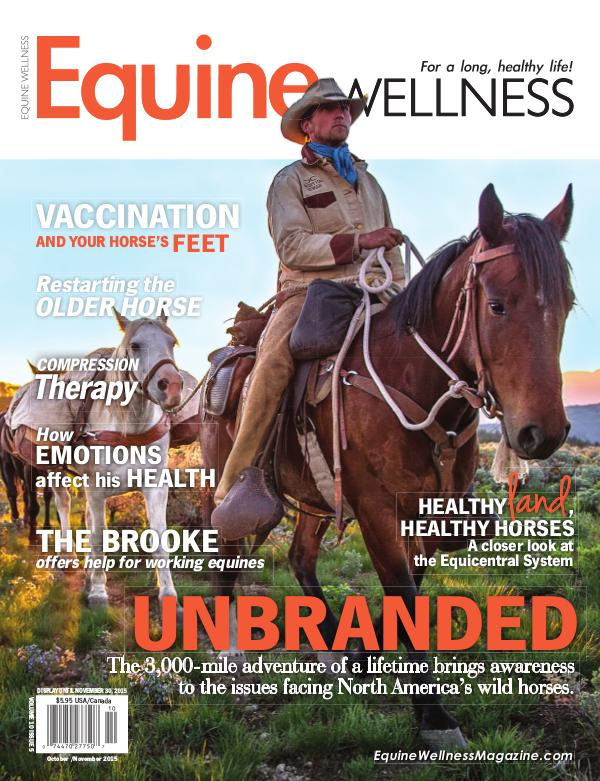Equine Wellness Magazine Oct/Nov 2015
